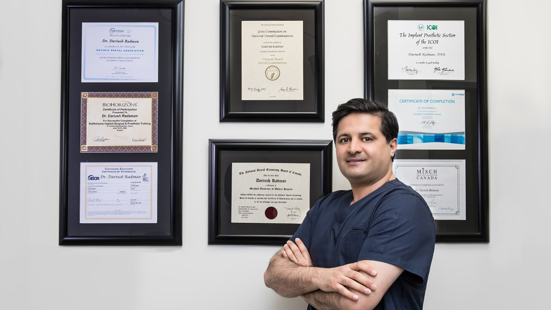 Dr. Dariush Radman, Dentist In Thornhill, Richmond Hill